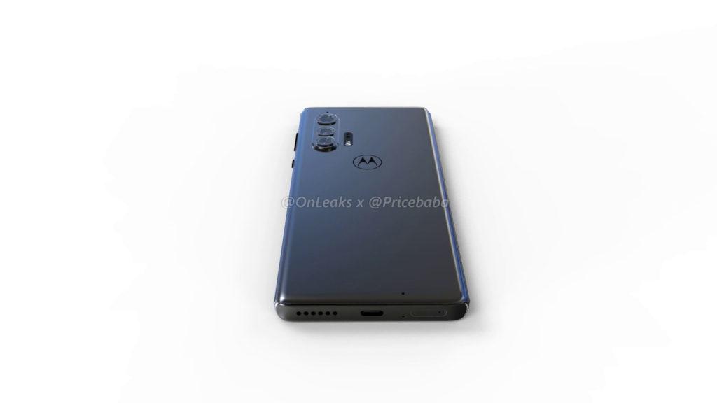 Με οθόνη τύπου waterfall θα εμφανιστεί το επερχόμενο Motorola Edge + και θα φέρει μια μικροσκοπική selfie φωτογραφική μηχανή 4