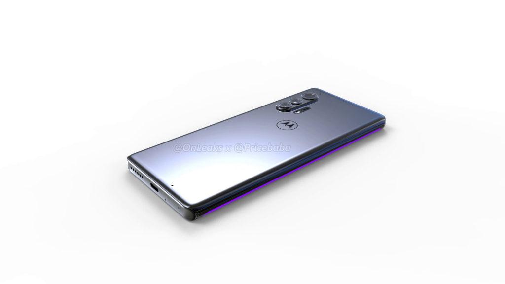 Με οθόνη τύπου waterfall θα εμφανιστεί το επερχόμενο Motorola Edge + και θα φέρει μια μικροσκοπική selfie φωτογραφική μηχανή 5