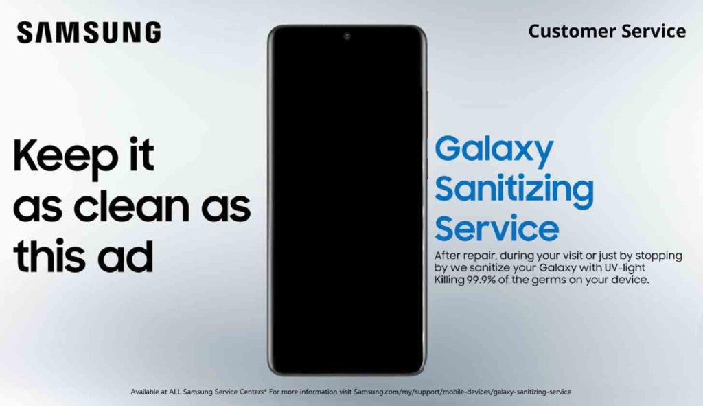 ΔΩΡΕΑΝ ένας πλήρης καθαρισμός Galaxy συσκευών από την Samsung για να μην νοσήσετε από τον κορονοϊό 1