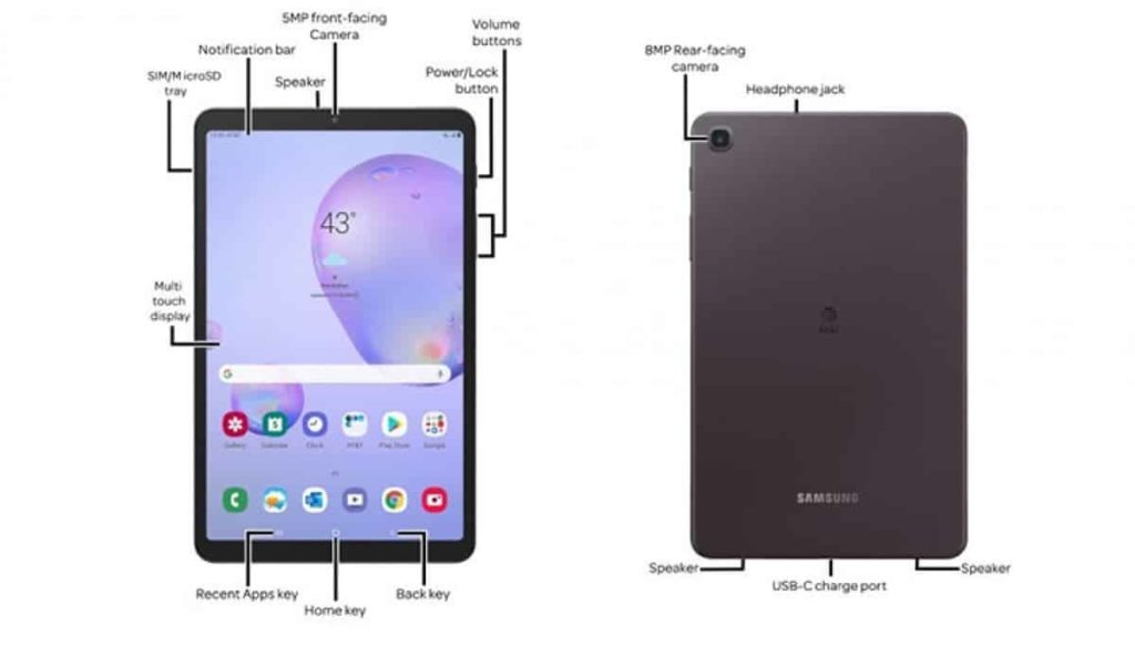 Άλλη μια νέα διαρροή για το Galaxy Tab  A 8.4 (2020) 1