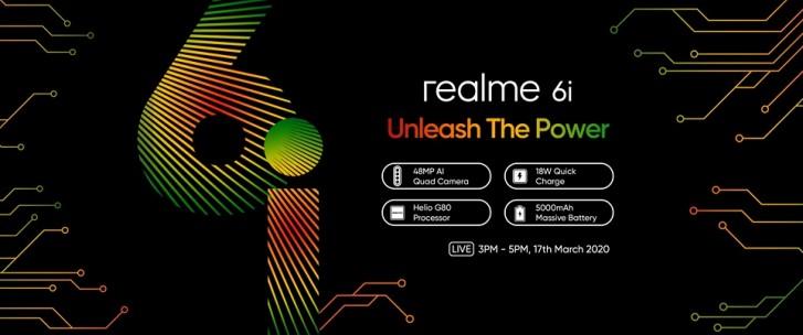Είναι πια σίγουρο πως το Realme 6i θα φέρει εγκοπή waterdrop, εμπρόσθια φωτογραφική μηχανή 16MP και μπαταρία των 5.000 mAh 2