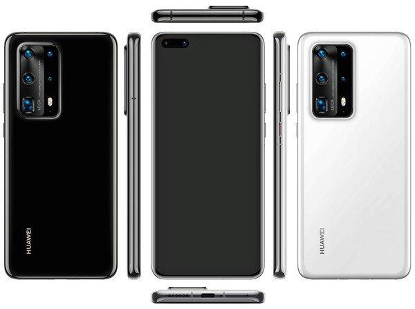 Πληροφορίες για την διαμόρφωση της πενταπλής κάμερας του Huawei P40 Pro 1