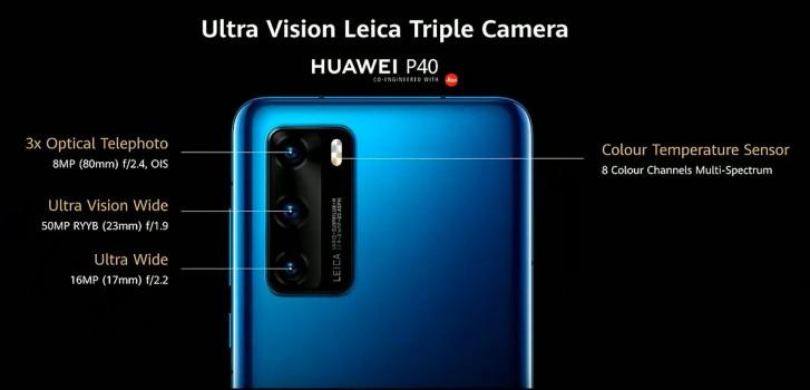 Αγαπητοί κύριοι/ες ιδού επισήμως τα νέα Huawei P40 Pro και Huawei P40 με εξαιρετικό σύνολο καμερών 7