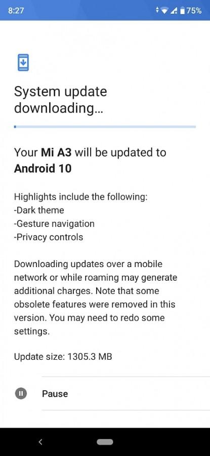 Προσωρινή διακοπή στο πρόγραμμα αναβάθμισης του Xiaomi Mi A3 σε Android 10 3