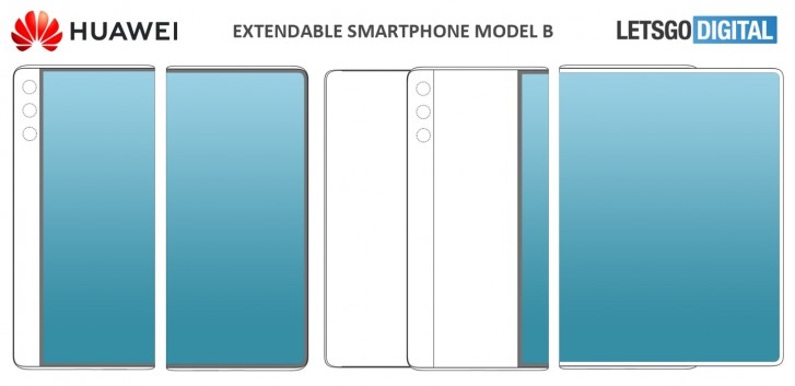 Άλλα δύο νέα διπλώματα για συρόμενες οθόνες έχει υποβάλλει γραπτώς η Huawei 1