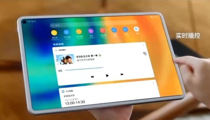 Στο νέο Huawei MediaPad ίσως δούμε την σχεδιαστική επιλογή punch-hole για την οθόνη 1