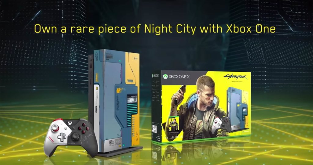 Πανέμορφο το Xbox One X Cyberpunk 2077 Limited Edition! 1