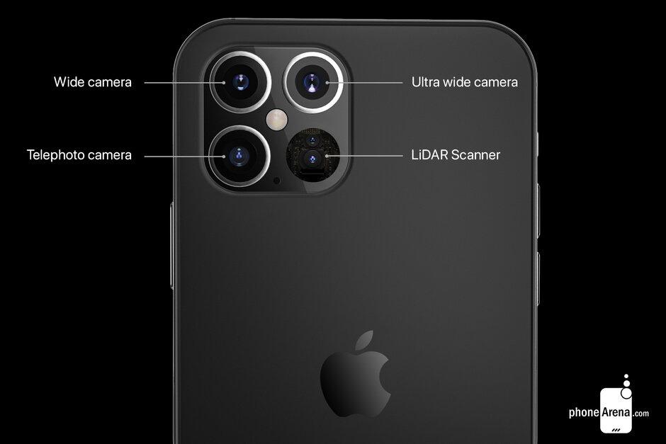 Διαφορετικός σχεδιασμός κάμερας στο iPhone 12 Pro 5G και χρήση σαρωτή LiDAR 2