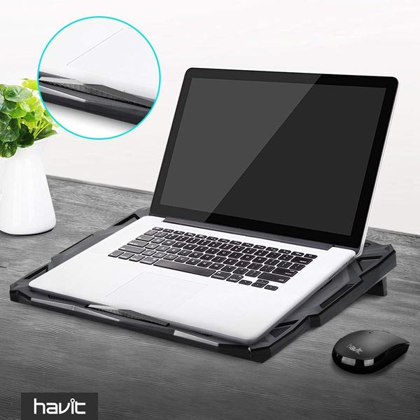 [Kooqie.com]: Πέτυχε την τέλεια ψύξη και την καλύτερη αθόρυβη λειτουργία με την βάση Havit HV-F2068 3