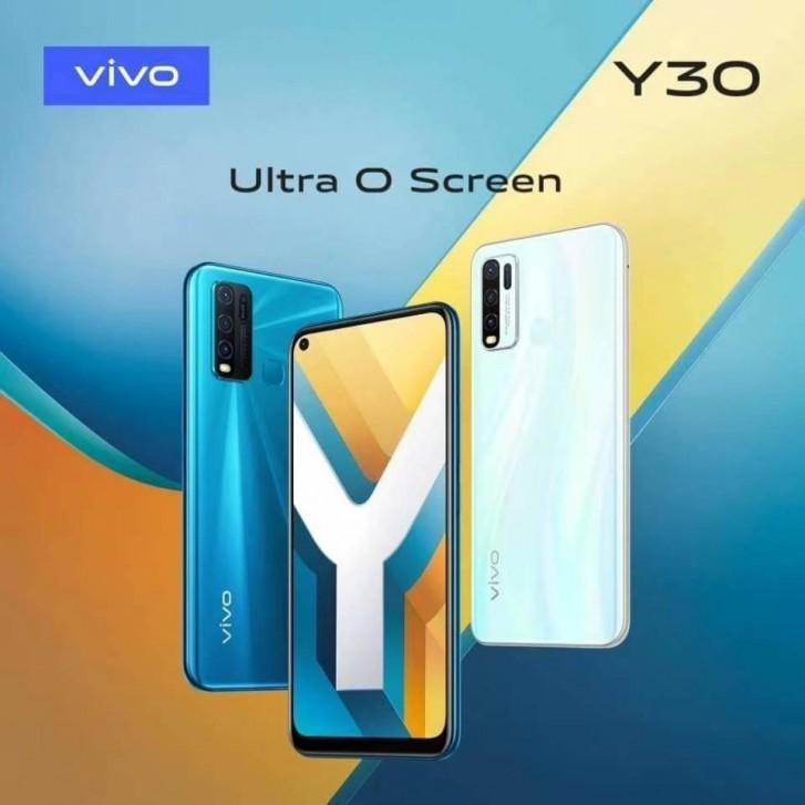 """Ultra O Screen"" σχεδιασμό για το Vivo Y30 1"