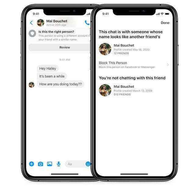 Facebook Messenger: Τώρα προειδοποιεί τους χρήστες για απάτες και πλαστοπροσωπίες 1
