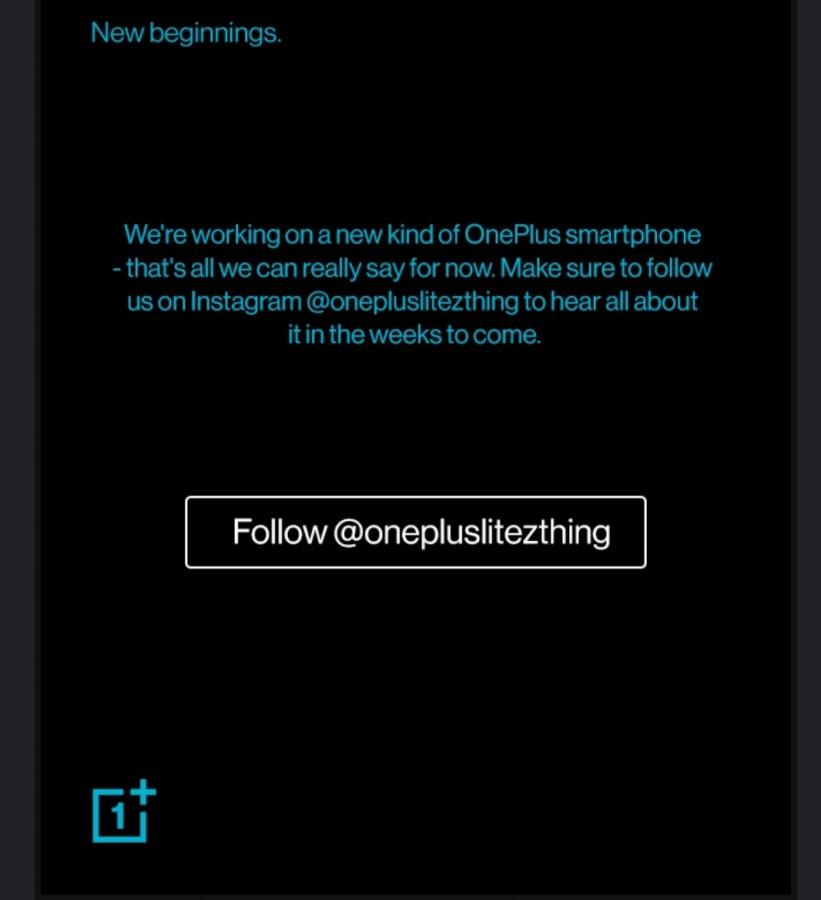 OnePlus: Επιβεβαιώνει ότι ένα μικρό τηλέφωνο βρίσκεται στο δρόμο, έρχεται σε Ευρώπη και Ινδία 1