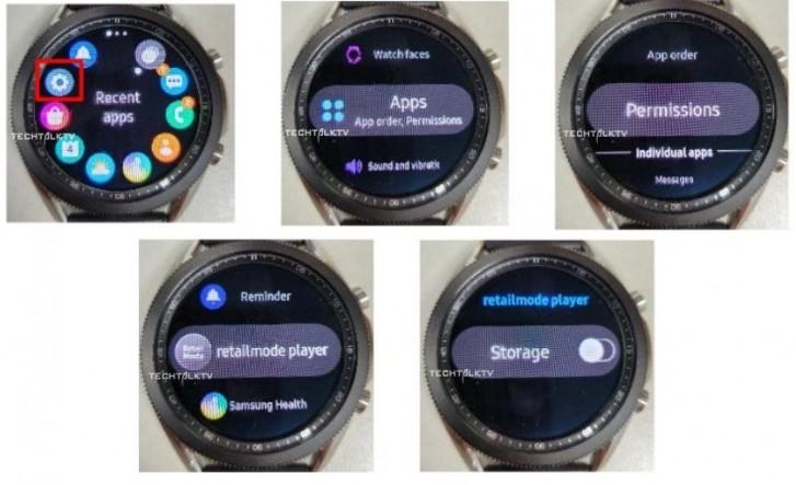 Φωτογραφίες με ενεργό το νέο Samsung Galaxy Watch 3 1