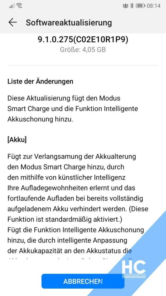 Huawei P10 / P10+: Κάντε χώρο στην συσκευή σας, υπάρχει νέα ενημέρωση με όγκο 4.07 GB! 1