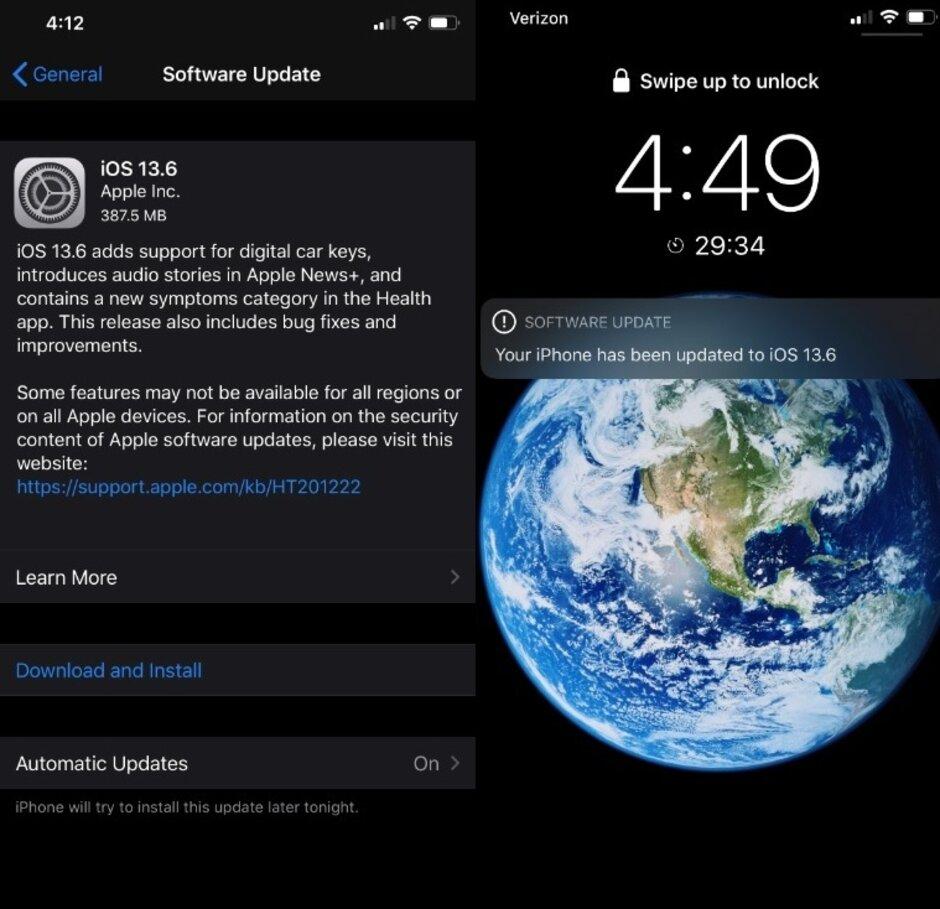 Η Apple κυκλοφορεί τα iOS και iPadOS 13.6 με CarKey, διορθώσεις σφαλμάτων και πολλά άλλα 1