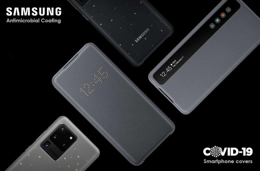 Samsung: Αναπτύσσει νέες θήκες τηλεφώνων με ειδική αντιμικροβιακή επίστρωση για να καταπολεμήσει τον Coronavirus 1