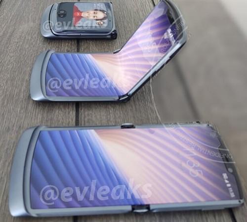 Εμφανίστηκαν οι πρώτες εικόνες του Motorola Razr 2020 1