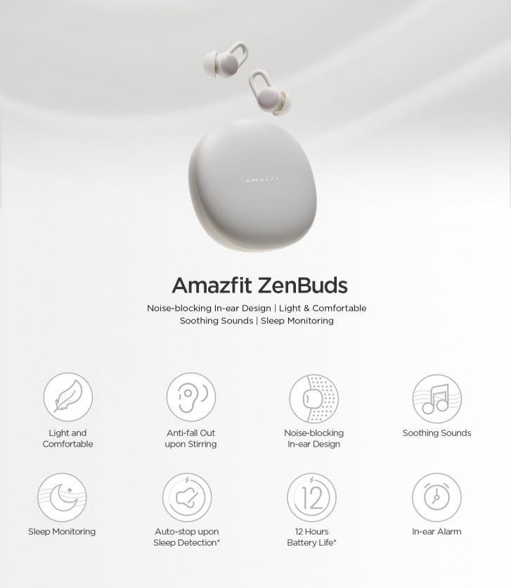 Έχουν συμπεριληφθεί στην πλατφόρμα Indiegogo τα νέα Amazfit ZenBuds 2