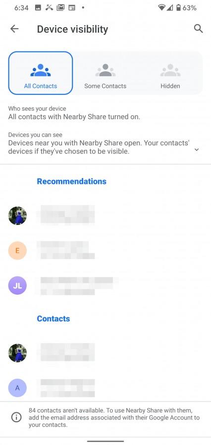 Μπαίνει σε φάση beta  η νέα λειτουργία Google Nearby Sharing 3