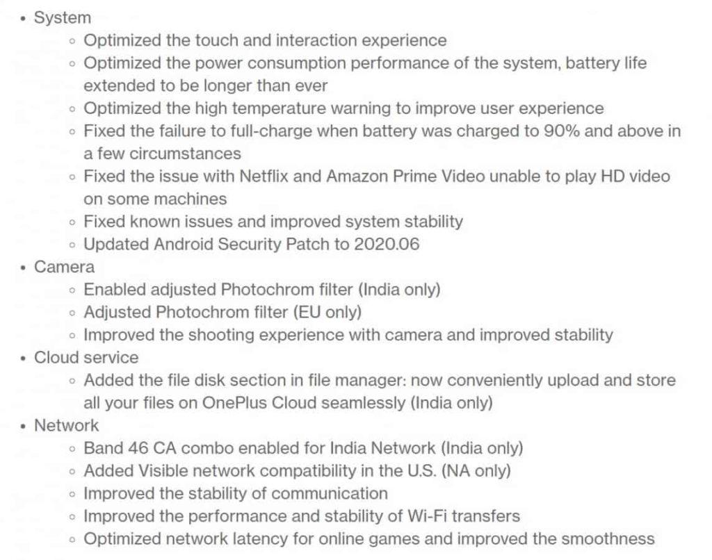 Μην ξεχάσετε, υπάρχει σημαντική νέα ενημέρωση για τα OnePlus 8 και 8 PRO 1