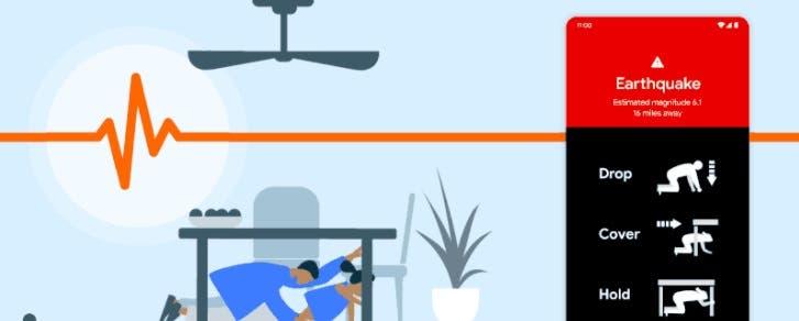 Μετά από πολλές εργασίες, η Google δημιούργησε σύστημα προειδοποιήσεις για σεισμούς με βάση το Android 1