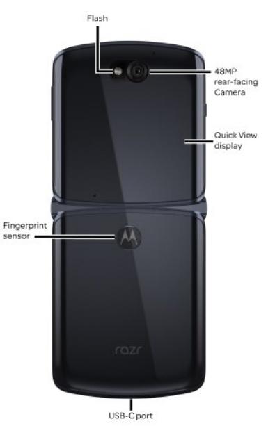 Βρήκε νέο μέρος η Motorola για να κρύψει τον αισθητήρα ανάγνωσης δακτυλικών αποτυπωμάτων του Moto Razr 5G 2