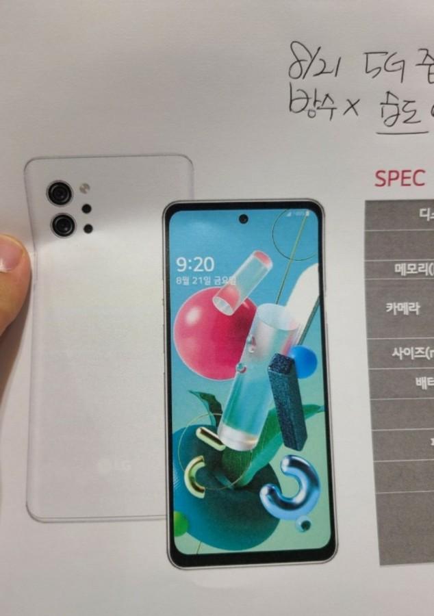 Αναλυτικές πληροφορίες για το νέο LG Q92 5G και έξτρα Bonus μια φωτογραφία του! 2