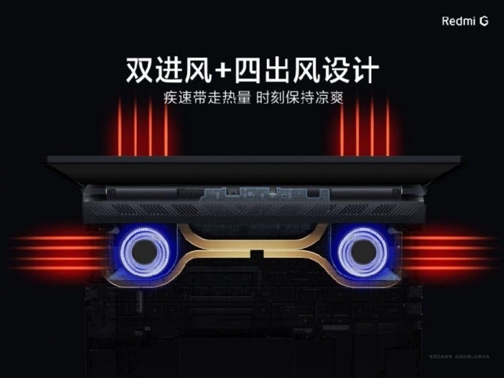 Παρουσιάστηκε το νέο gaming notebook Redmi G με οθόνη 144Hz και τιμή από 760 $ 2