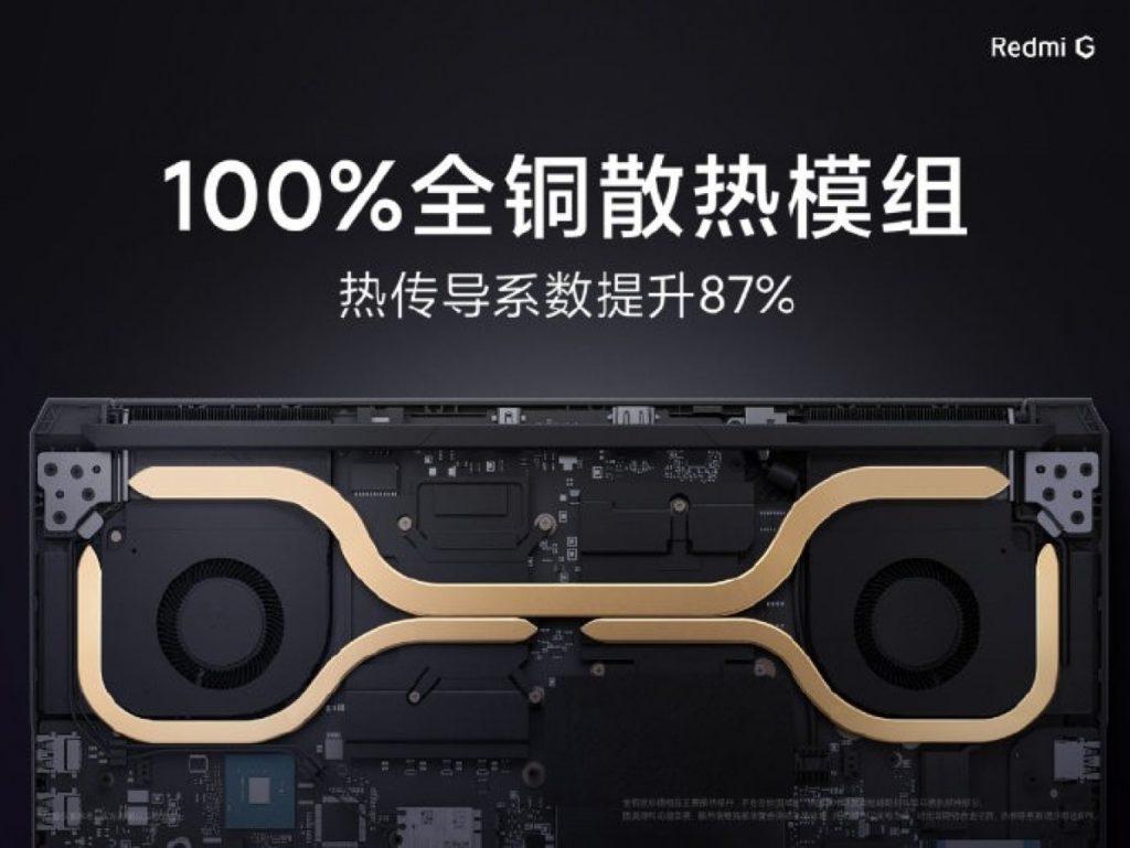 Παρουσιάστηκε το νέο gaming notebook Redmi G με οθόνη 144Hz και τιμή από 760 $ 3