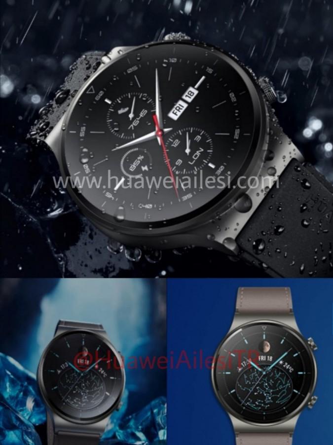 Εικόνες, πιθανά χαρακτηριστικά και νέα πιστοποίηση για το Huawei Watch GT 2 Pro 2
