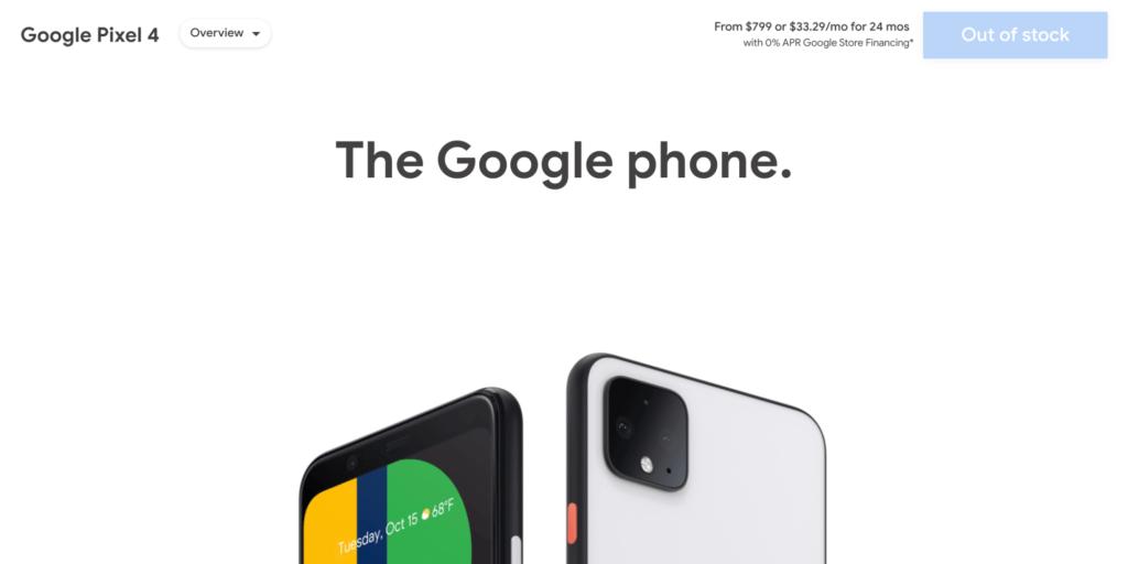 Μετά από λιγότερο ένα χρόνο κυκλοφορίας, η Google διακόπτει τα Pixel 4 και Pixel 4 XL 1