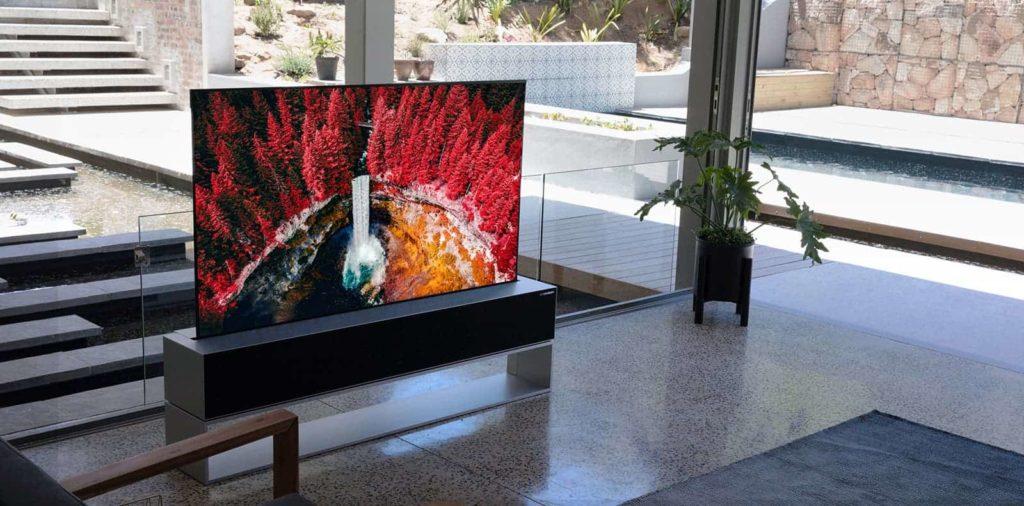 Η LG θα κυκλοφορήσει την πρώτη κυλιόμενη τηλεόραση στον κόσμο τον επόμενο μήνα - θα κοστίσει πάνω από 85.000 $ 1