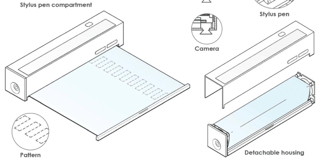 Η LG κατοχυρώνει με δίπλωμα ευρεσιτεχνίας μια μοναδική συσκευή με μια κυλιόμενη οθόνη OLED 2