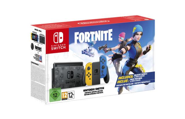 Έτοιμη για πώληση από τον Οκτώβριο η νέα ειδική έκδοση του Fortnite Nintendo Switch 2
