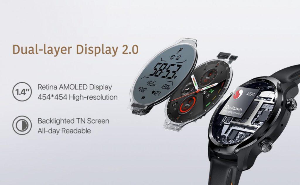 Η Mobvoi ανακοινώνει το TicWatch Pro 3 GPS με την πλατφόρμα Qualcomm Snapdragon Wear 4100 1