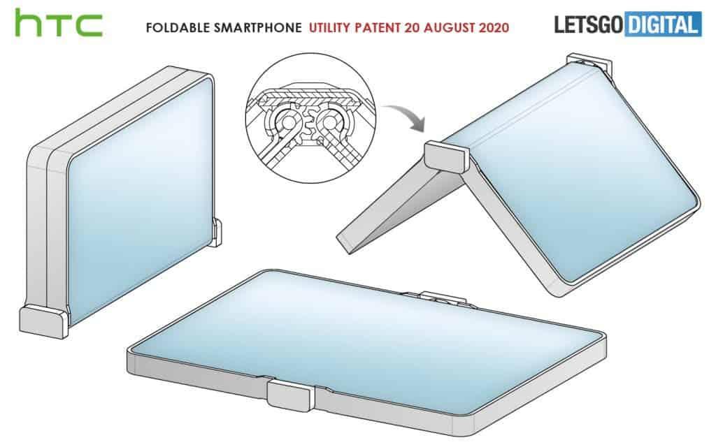 Επιστροφή από την HTC με ένα αναδιπλούμενο smartphone; 2