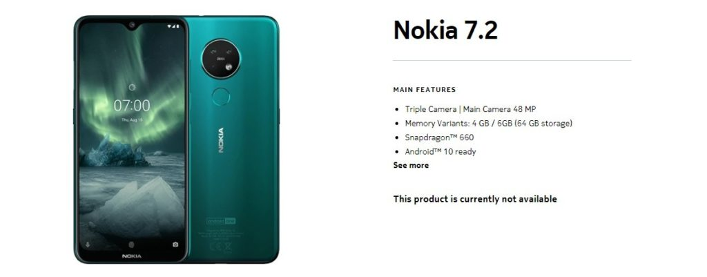 Το Nokia 7.3 θα κυκλοφορήσει στις 22 Σεπτεμβρίου και μια νέα φήμη πως το Nokia 9.3 πιθανώς δεν είναι ακόμη έτοιμο 1