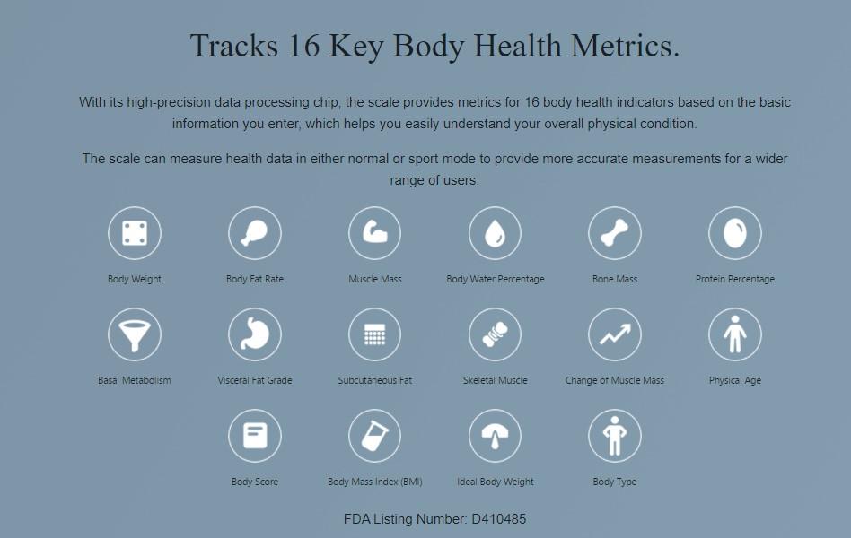 Η σελίδα προϊόντων για την νέα Amazfit Smart Scale είναι αναρτημένη και αναφέρει έως και 16 μετρήσεις για την υγεία του σώματος 1