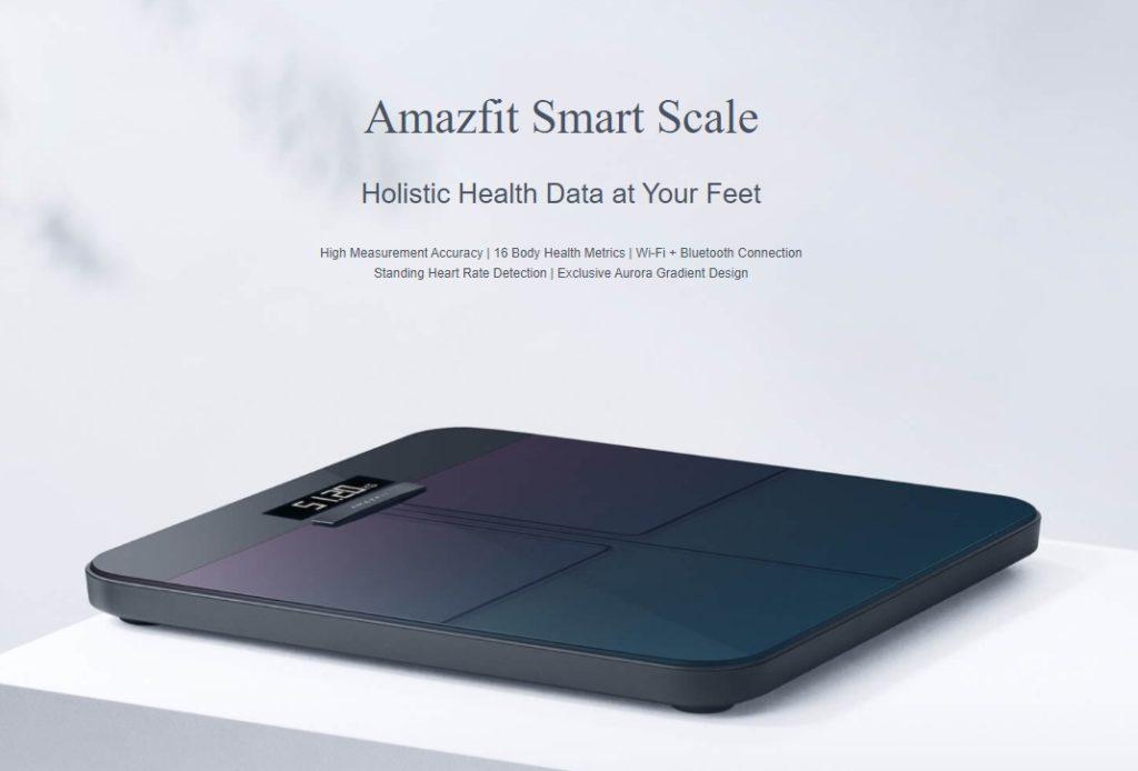 Η σελίδα προϊόντων για την νέα Amazfit Smart Scale είναι αναρτημένη και αναφέρει έως και 16 μετρήσεις για την υγεία του σώματος 2