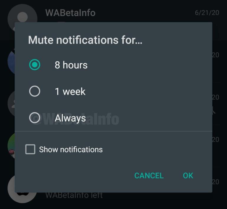 WhatsApp beta 2.20.201.10: Tι νέο υπάρχει; 1
