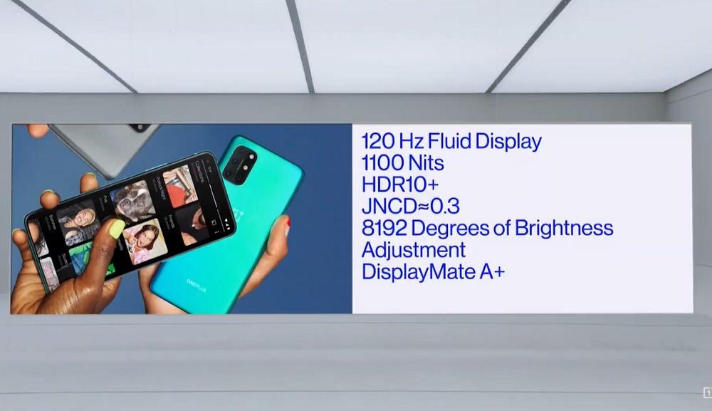 Όπως το περιμέναμε, το νέο OnePlus 8T έρχεται με δύο μπαταρίες, μια επίπεδη οθόνη 120Hz και γρήγορη φόρτιση 65W! 1