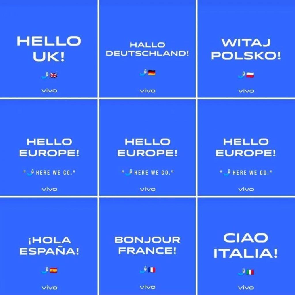 Μπαίνει επίσημα και στην Ευρώπη η vivo με τέσσερα νέα τηλέφωνα σε έξι χώρες 1