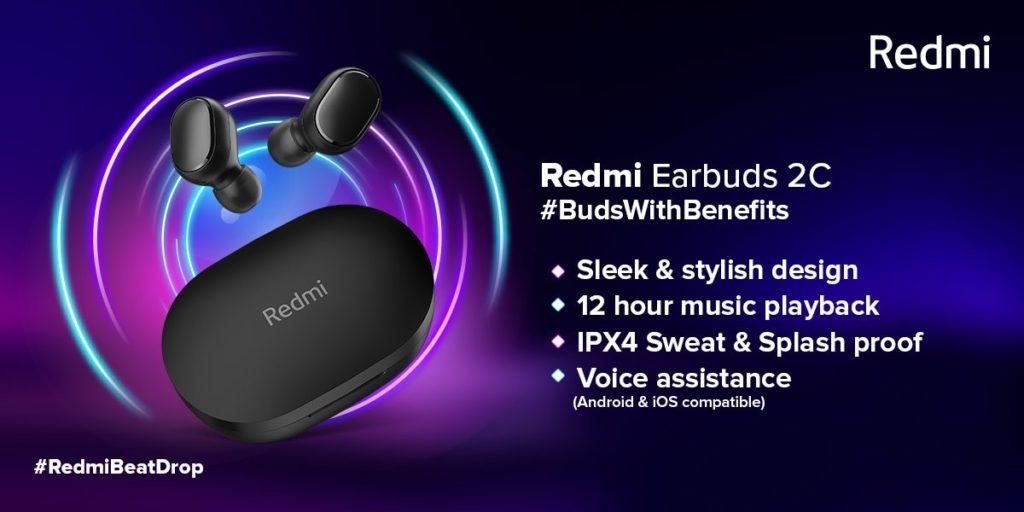 Ανακοινώθηκαν τα Redmi EarBuds 2C και Redmi SonicBass 1
