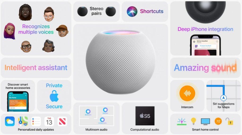 Πολλές έξυπνες λειτουργίες φέρνει το νέο HomePod Mini της Apple και κυκλοφορεί με τιμή στα $ 99 1