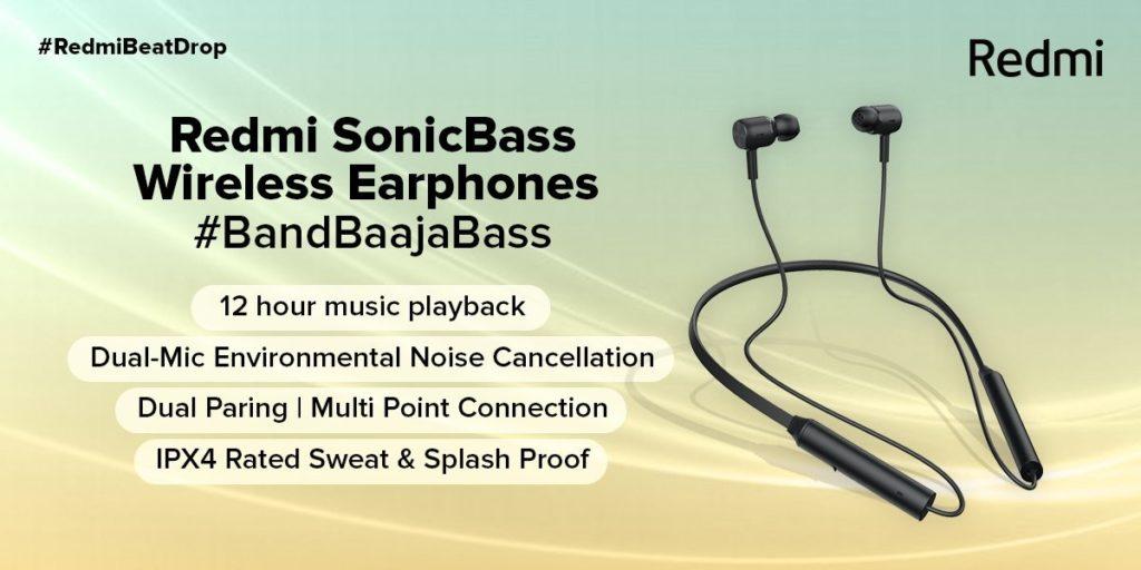 Ανακοινώθηκαν τα Redmi EarBuds 2C και Redmi SonicBass 2