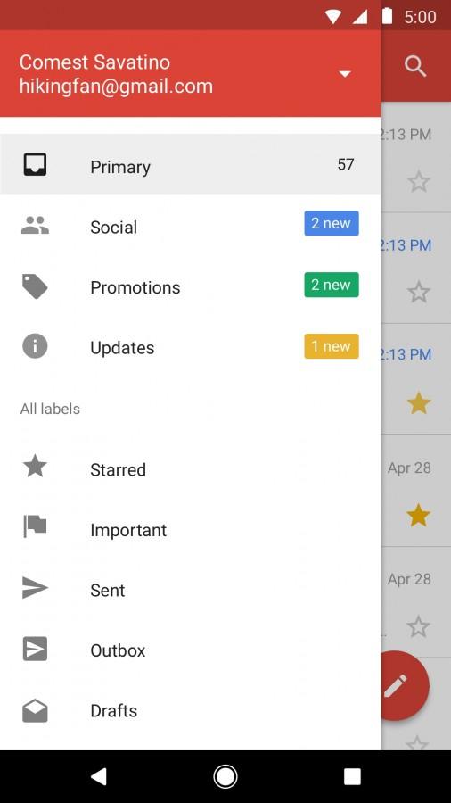 Πλέον σε όλες της συσκευές επιτρέπεται η λήψη του Gmail Go 2