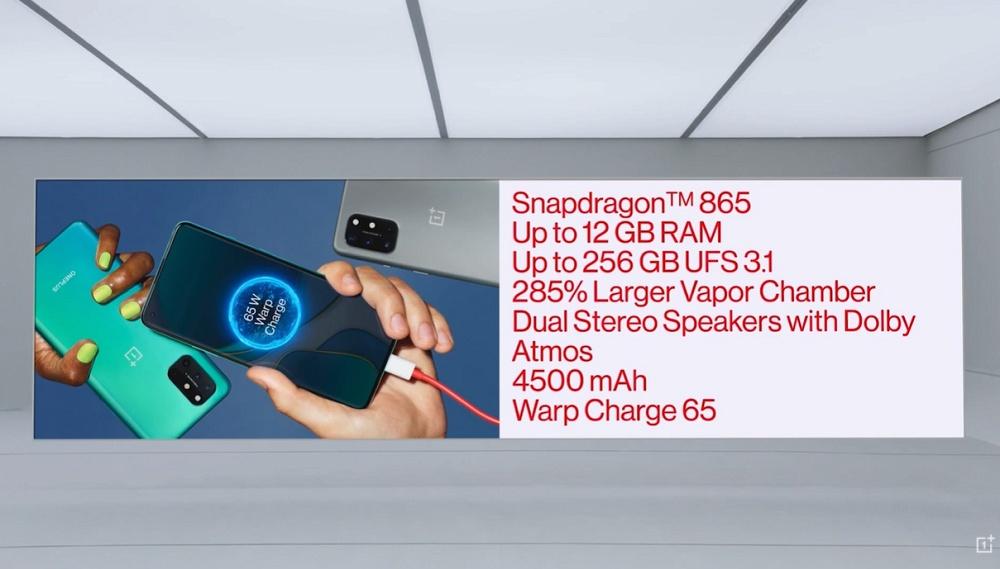 Όπως το περιμέναμε, το νέο OnePlus 8T έρχεται με δύο μπαταρίες, μια επίπεδη οθόνη 120Hz και γρήγορη φόρτιση 65W! 2