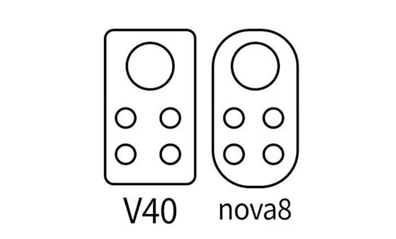 Το Huawei Nova 8 και Honor V40 θα φτάσουν τον Δεκέμβριο, αλλά αποκαλύφθηκε ήδη ο σχεδιασμός της κάμερας τους 1