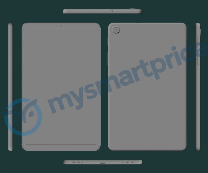 """Πλήρη αποκάλυψη του επερχόμενου Samsung Galaxy Tab 8,4"""" (2021) μέσω 3D CAD renders 1"""