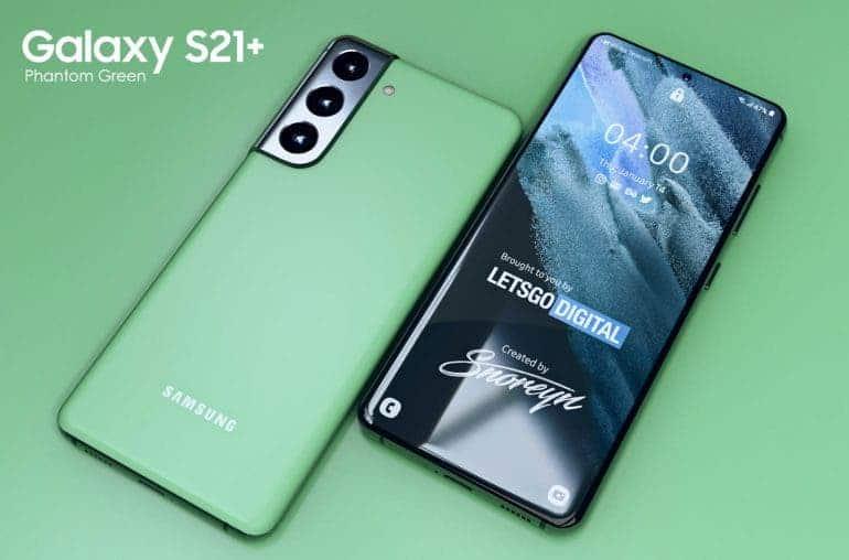 Άλλη μια ειδική χρωματική έκδοση για το Galaxy S21 Plus 1